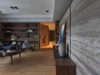 宸域空間設計有限公司 Moderne Wohnzimmer