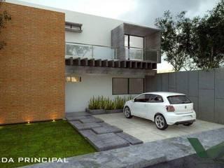 CASA LOMA Casas modernas de VILLA ARQUITECTO Moderno