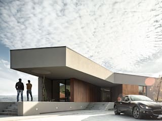 Casas modernas por PAULO MARTINS ARQ&DESIGN Moderno