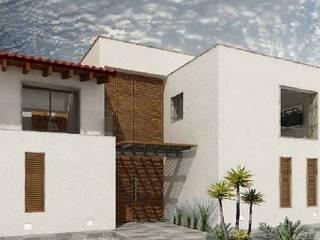 Casa Estudio: Villas de estilo  por Belen homify,