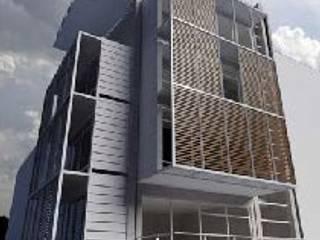 Casa Estudio: Condominios de estilo  por Belen homify,