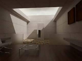 Casa Estudio: Estudios y oficinas de estilo  por Belen homify,