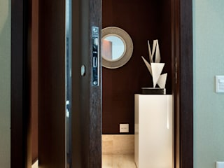 Antes e Depois em Apartamento em Moema, São Paulo:   por Liliana Zenaro Interiores,