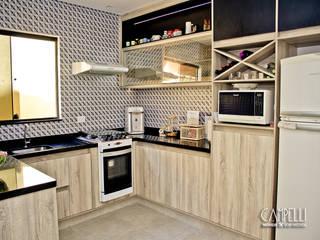 Cozinha sob medida por Campelli Móveis Sob Medida Moderno