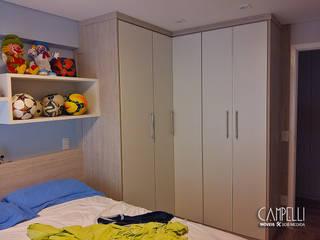 Dormitório sob medida Closets por Campelli Móveis Sob Medida Moderno