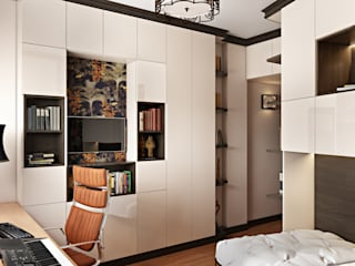 Eclectic style study/office by Zibellino.Design Eclectic