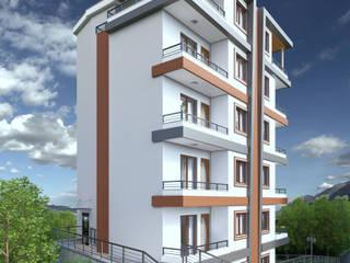3 Art Studio – Ahmet Kırıcı:  tarz Apartman, Modern