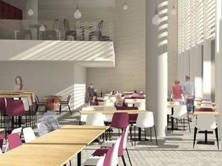 Appel d'offre Clinique Capio Salle à manger industrielle par Joëlle Bourquin Industriel