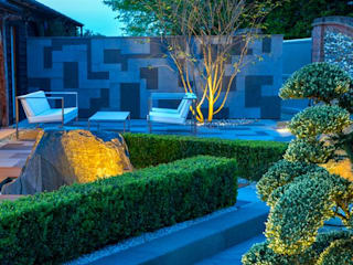 Contemporary Garden Design features MyLandscapes Garden Design Jardins modernos
