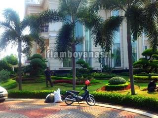 Tukang Taman Surabaya - flamboyanasri Front yard