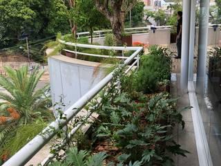 Taman Gaya Rustic Oleh Belas Artes Estruturas Avançadas Rustic
