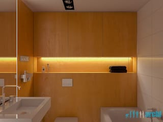 Archi group Adam Kuropatwa Minimalist style bathroom