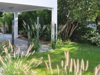 Partition minérale et florale Jardin moderne par Sophie Durin | Empreinte Paysagère Moderne