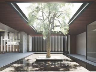 Minimalist style garden by CIC ARQUITECTOS Minimalist