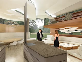 Die Arbeitsweise von archipur - am Beispiel Luxury Residence von archipur Architekten aus Wien Ausgefallen