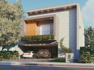 Residência - Condomínio Damha III por Sá Earp Arquitetura Moderno