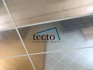 TECTO PVC Acoustic Ceiling Ukuran 60cm X 120cm X 0.8cm Oleh Tecto Plafon Asia