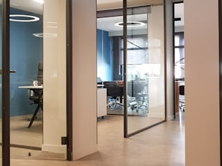 LINXA OFİS Modern Çalışma Odası CAGLART MİMARLIK Modern