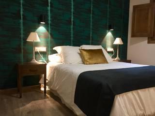 Proyecto Decoración Alojamiento Rural Hoteles de estilo moderno de Traza Naranja SLU Moderno