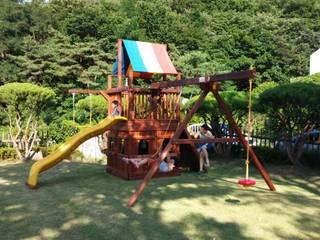 어린이조합놀이대 (Swing set) by (주)지브이