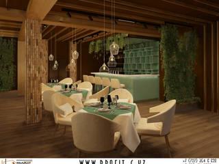 Дизайн-проект помещений ресторана для горного отеля: Ресторации в . Автор – ТОО 'ПРОФИТ',