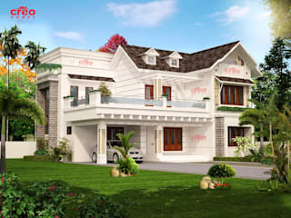 Home Architects Ernakulam Asian style houses by CreoHomes Pvt Ltd Asian