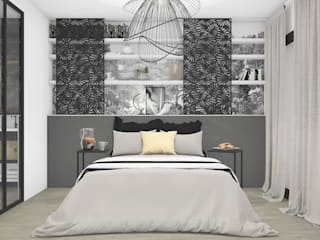 Bedroom by SAMANTHA DECORATION