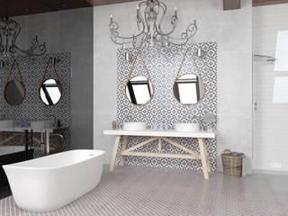 Baños de estilo moderno de CERAMICHE MUSA Moderno Cerámico