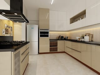 SOBHA PROJECT:  Kitchen units by Wea Design
