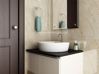 SOBHA PROJECT:  Bathroom by Wea Design