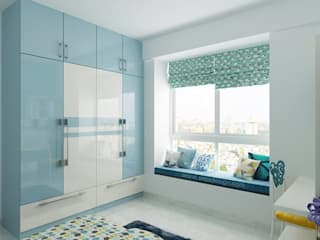 SOBHA PROJECT:  Small bedroom by Wea Design