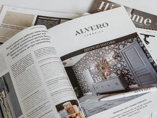 Фабрика Альверо: Деревянные двери в . Автор – Альверо