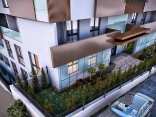 ANTE MİMARLIK Casas multifamiliares