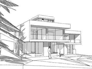CASA EBENSPERGUER, COMUNA DE LA REINA, SANTIAGO.:  de estilo  por RCR Arquitectos