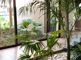 Casa JR: Livings de estilo  por Maximiliano Lago Arquitectura - Estudio Azteca,