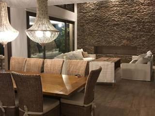Maximiliano Lago Arquitectura - Estudio Azteca Modern living room