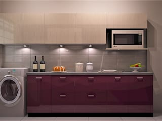 Kitchen Design Ideas:  Kitchen by Golden Spiral Productionz (p) ltd