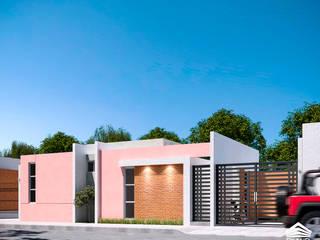 CASA VÍAS Casas minimalistas de RIALD arquitectos Minimalista
