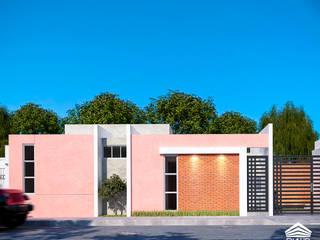 CASA VÍAS de RIALD arquitectos Minimalista