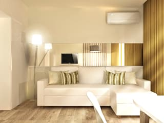 Apartamento Vilamoura - Algarve Salas de estar modernas por Daniel Antunes Moderno