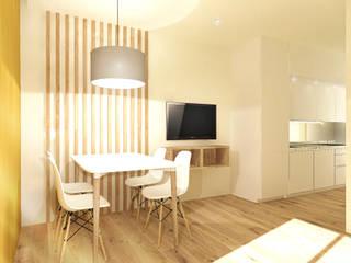Apartamento Vilamoura - Algarve Salas de jantar modernas por Daniel Antunes Moderno