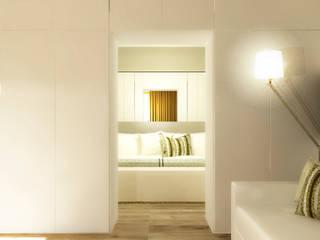 Apartamento Vilamoura - Algarve Quartos modernos por Daniel Antunes Moderno
