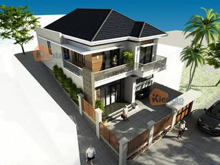 Mẫu biệt thự 2 tầng mái thái đẹp lung linh tại Sơn La – BT 99 bởi CÔNG TY CỔ PHẦN XD&TM KIẾN TẠO VIỆT