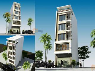 Nhà phố 5 tầng hiện đại ai nhìn cũng mê tại Trung Văn – NP 137: hiện đại  by CÔNG TY CỔ PHẦN XD&TM KIẾN TẠO VIỆT, Hiện đại