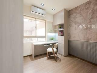 Спальня в стиле модерн от 沙瑪室內裝修有限公司 Модерн