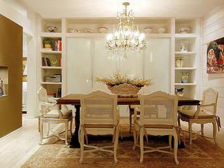 Decoração sala : Salas de jantar  por Anne Báril Arquitetura