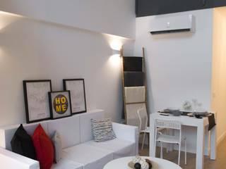 Home Staging Loft San Sebastián de Los Reyes Interior Home Staging Salones de estilo moderno