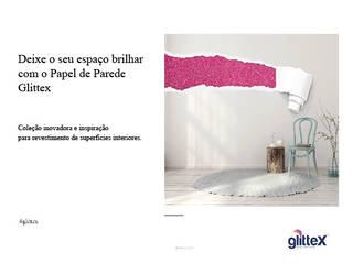 Papel de Parede Glittex por Tajiservi SA Moderno