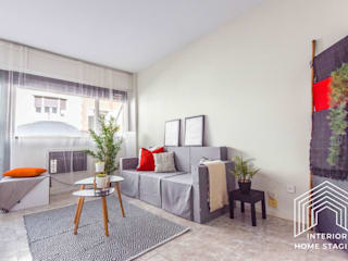 Home Staging Vivienda en Barrio de Salamanca Madrid Salones de estilo moderno de Interior Home Staging Moderno