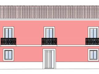 Alçado Principal:   por Teresa Ledo, arquiteta